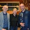 Bradley Brady, Stacie Mayoras and Jonathan Stokey