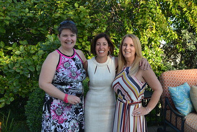 Amy Cousineau, Stacey Roth and Beth Foster