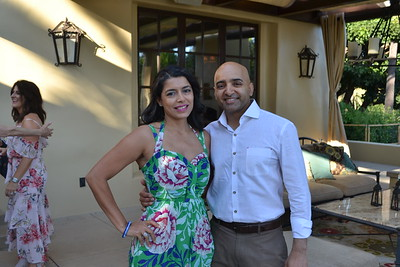 Nehal Lakhani and Dickey Shah