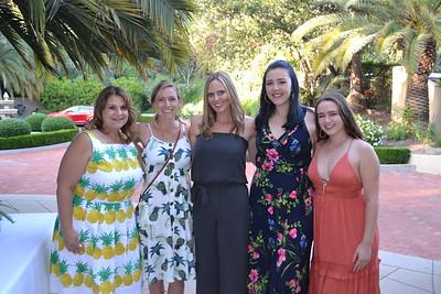 Carrie Espinoza, Lisa Gavitt, Bernie Gore and Georgia and Maddie Vagim