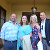 Dan and Melissa Harper with Emily and Scott Street