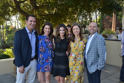 Ryan and Heather Rivera, Tasia Filippatos and Sarah and Carl Weinstein