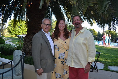 Hillsides President and CEO Joe Costa with evening hosts Chelisa and Jim Vagim