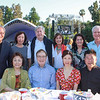 Janice Lee McMahon (front row, from left), Brian McMahon, Jennifer Shen and Jesse Hong. Back: Eddie and Betty Wang, Peter Brockett, Laureen Chang, Marilyn Simon and Steve Fleishman.