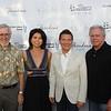 Peter Hoffman, Lora Unger, Michael Feinstein and Paul Byrne