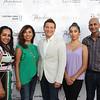 Sapna Singh, Alma Banuelos, Michael Feinstein, Brooke Banuelos and Vishal Singh