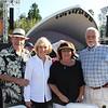 Gary and Helga Sherman with Liz and Bill Falvey