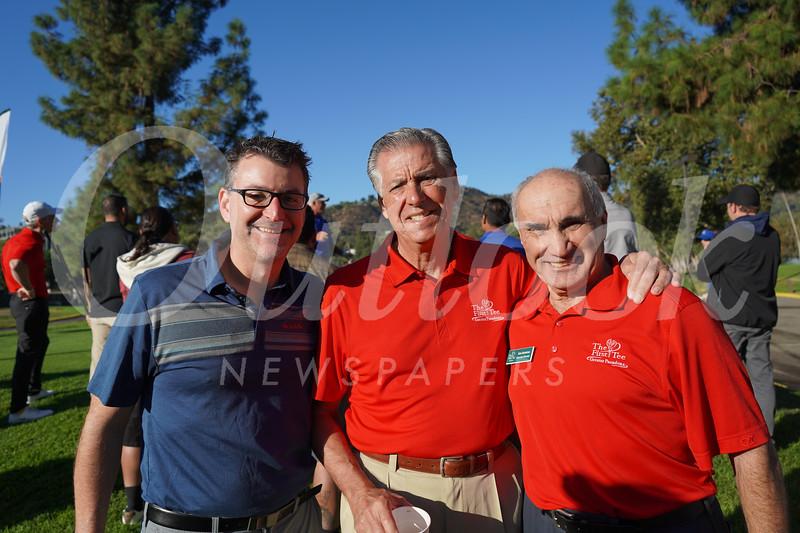 Jason Sinner, John Sinner and Bob Baderian