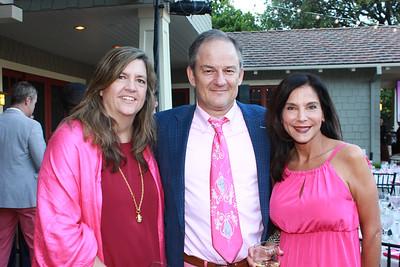 Eileen and Michael Williamson and Celeste Liversidge