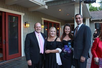 David and Laura Quigg, Jennifer McKinnon and David DiCristofaro