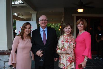 Mariann Nolan, Jay Davis, Christine Davis and Debi Kroman