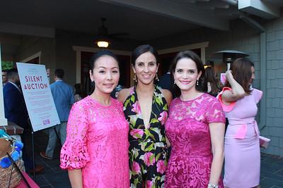 Hanna Lim, Paola Mork and Leah Mason