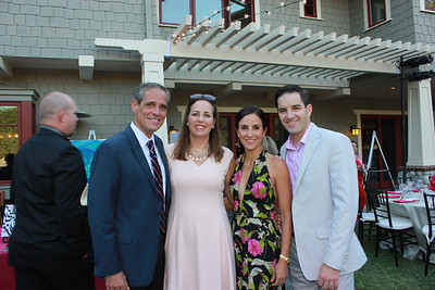 Stephen and Chantal Bennett with Paola and Rustin Mork