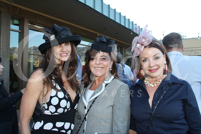 Nancy Gerber, René Chiara and Christine Miller