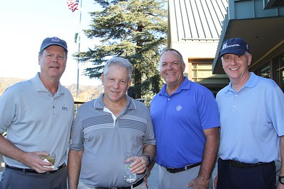 Peter Weir, Rick Robins, Greg Grande and Don Bishop