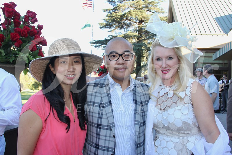 Joyce and Allan Liao with Emily Street