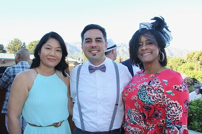 Chinling Chen, Edwin Quiles and Monique Ambrester