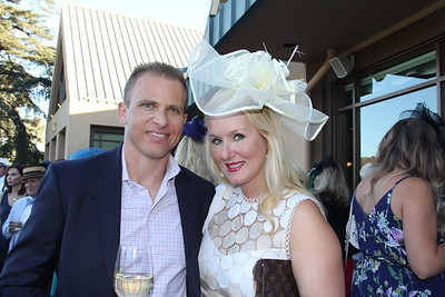 Sponsorship chair Scott Street and his wife, Emily