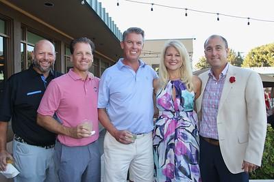 Matt Jiggins, Bill Hayden, Chris Cabot, and Karen and John Clark