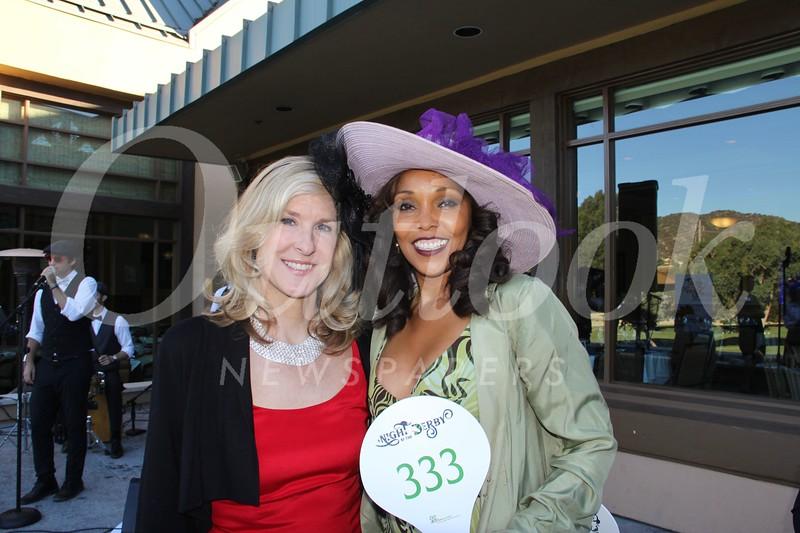 Heather Holmstrom and Gretchen Palmer