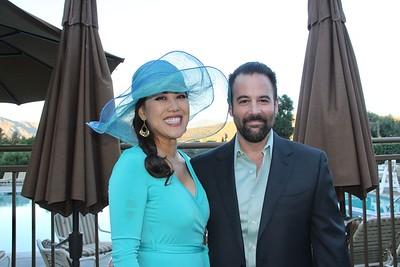 Five Acres CEO Chanel Boutakidis and her husband, Ioakim
