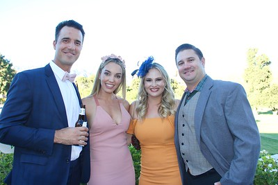 Kyle and Shanee Catalfamo with Natalie and Brian Chase