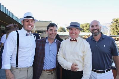 Travis Buhl, Monte Baier, Sean Stellar and John Berger