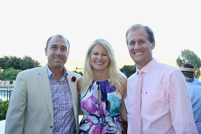 John and Karen Clark with Jason Berns
