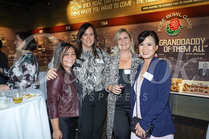 Mimi Carter, Nicole Rasic, Trish Gonzales and Renee Chang