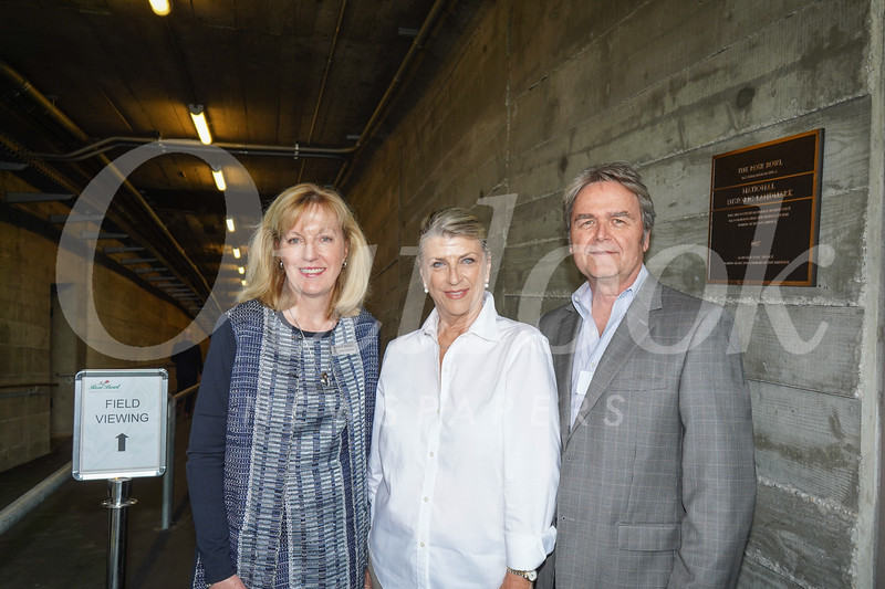 Sue McGuirl with Susan and Mitch Sawasy