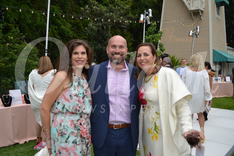 Jennifer and John Berger with Chantal Bennett