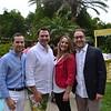 Garrett Collins and Matt McIntyre with Kelsey and Dave Szamet