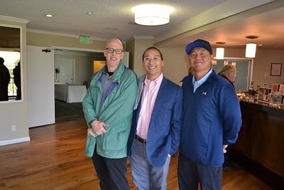 Joe White, Robert Yum and Andrew Son