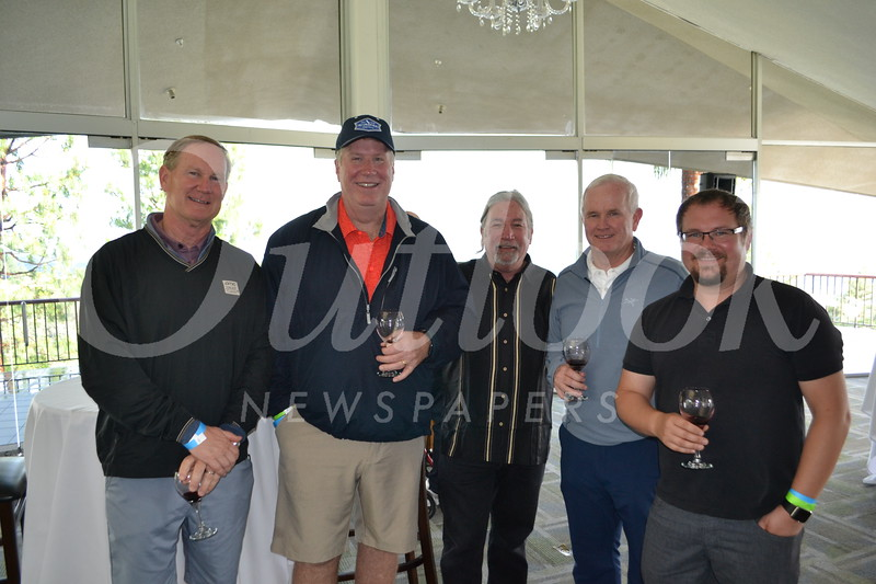 Scott Penn, Bob Meyer, Randy Dreyfuss, Brent Jones and Shawn Keltner