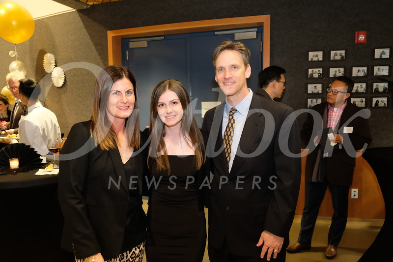 Erin Gunn with Kate and Marc Huntley