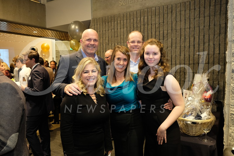 Sharon and Brian Mequet with Cassandra, Scott and Brooke Porter