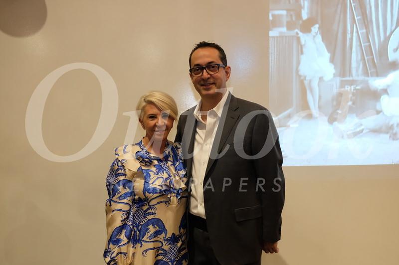 Tina Hartounian and Zarik Megerdichian