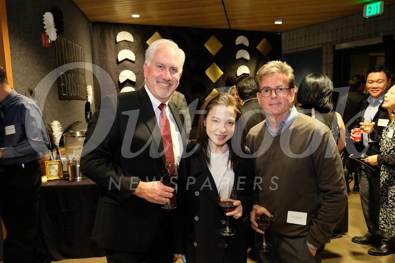 Tom Treinen, Rachel Sweet-Palmer and Tom Palmer