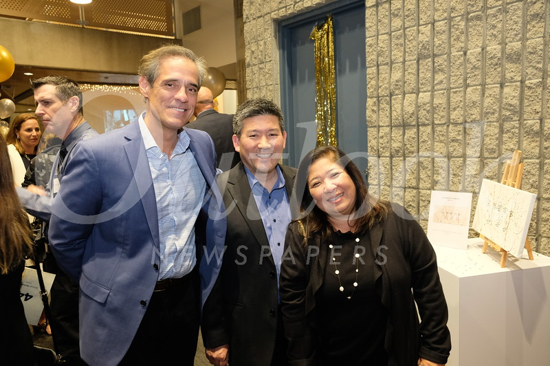 Steve Bennett with Craig and Sheryl Fujimoto