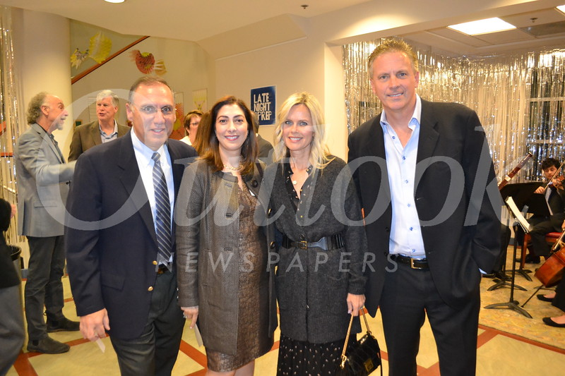 Joe and Audrey Ouzounian with Orsi and Jeff Crawford