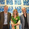 Brett and Katherine Barnard with Jim Dragna