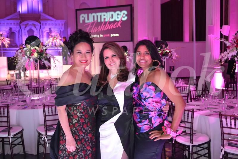 Event co-chairs Christine Lee, Monique Stevens and Sabena Sarma
