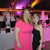 Auction co-chairs Syd Smith and Kirsten Harbers