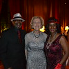 Honoree Helen Morran-Wolf is flanked by Errick and Andrea Gibson