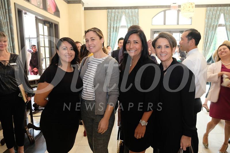 Christine Escobar, Erica Villalpando, Julietta Perez and Nicole Adrien
