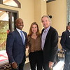 Pasadena Vice Mayor Tyron Hampton, Friends of Foothill President Chelby Crawford and Gregg Smith