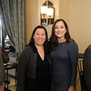 Melissa Wu and Foothill Family board chair Anita Lawler