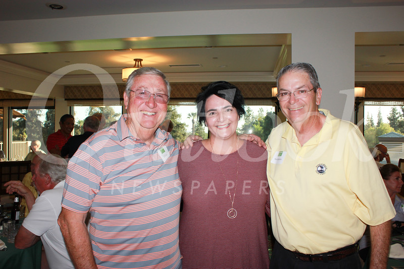 Curt Evans with Stacy and Rick Santeramo