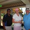 Maitland Stokes, Teri Valentine and George Mattei