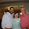 Rabbi Joshua Grater with Claire and Jim Brewer